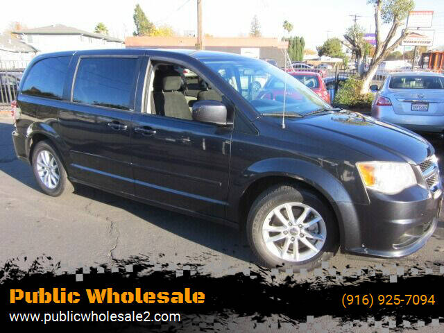 2013 Dodge Grand Caravan for sale at Public Wholesale in Sacramento CA