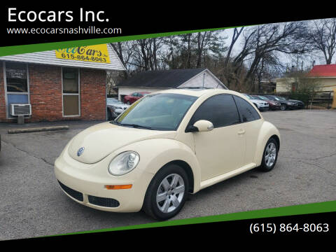2007 Volkswagen New Beetle for sale at Ecocars Inc. in Nashville TN