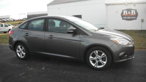 2014 Ford Focus for sale at B & B Sales 1 in Decorah IA