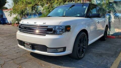 2018 Ford Flex for sale at ADVANTAGE AUTO SALES INC in Bell CA