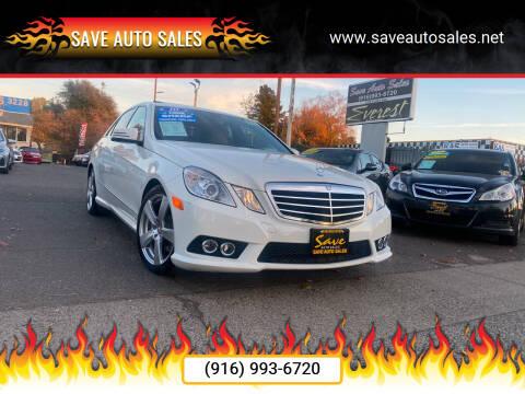 2010 Mercedes-Benz E-Class for sale at Save Auto Sales in Sacramento CA