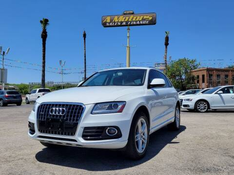 2015 Audi Q5 for sale at A MOTORS SALES AND FINANCE in San Antonio TX