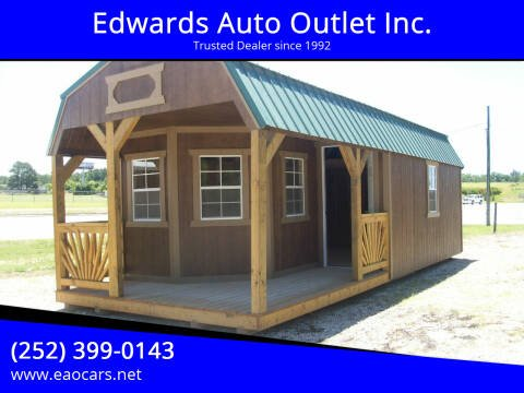 2021 Xx Old Hickory Buildings 12x28 Lofted Barn for sale at Edwards Auto Outlet Inc. in Wilson NC