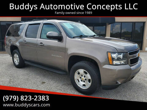 2012 Chevrolet Suburban for sale at Buddys Automotive Concepts LLC in Bryan TX