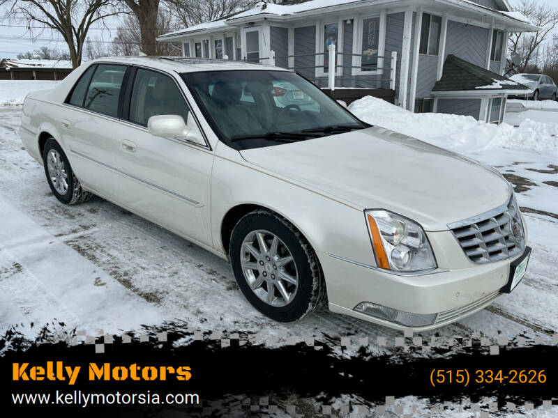 2010 Cadillac DTS for sale at Kelly Motors in Johnston IA