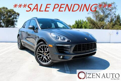 2018 Porsche Macan for sale at Zen Auto Sales in Sacramento CA