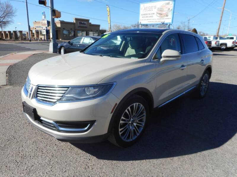 2016 Lincoln MKX for sale at AUGE'S SALES AND SERVICE in Belen NM