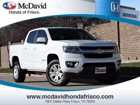 2018 Chevrolet Colorado for sale at DAVID McDAVID HONDA OF IRVING in Irving TX