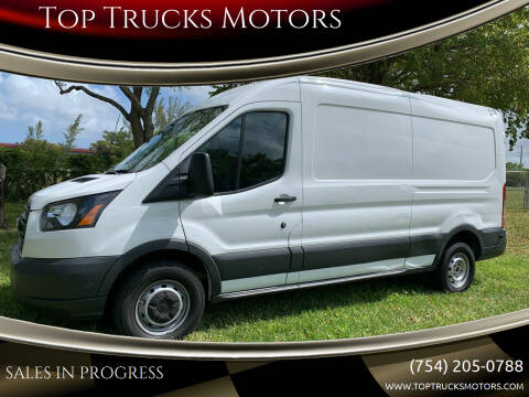 2018 Ford Transit Cargo for sale at Top Trucks Motors in Pompano Beach FL