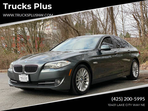 2013 BMW 5 Series for sale at Trucks Plus in Seattle WA
