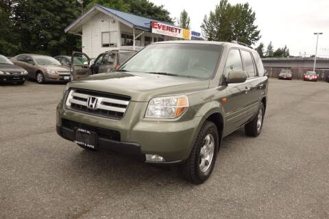2007 Honda Pilot for sale at Leavitt Auto Sales and Used Car City in Everett WA