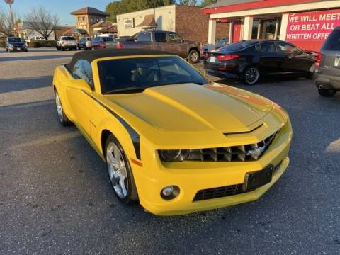 2012 Chevrolet Camaro for sale at Sell Your Car Today in Fayetteville NC
