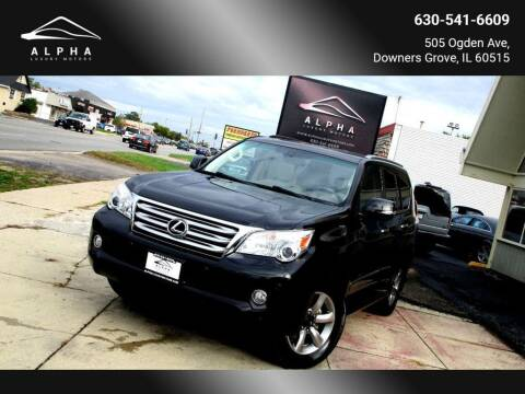 2013 Lexus GX 460 for sale at Alpha Luxury Motors in Downers Grove IL