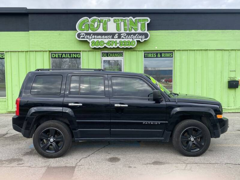 2012 Jeep Patriot for sale at GOT TINT AUTOMOTIVE SUPERSTORE in Fort Wayne IN