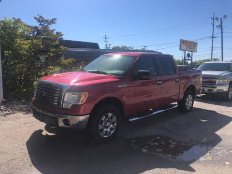 2010 Ford F-150 for sale at BELL AUTO & TRUCK SALES in Fort Wayne IN