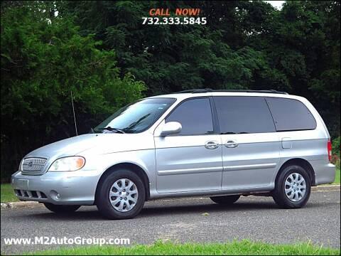2005 Kia Sedona for sale at M2 Auto Group Llc. EAST BRUNSWICK in East Brunswick NJ
