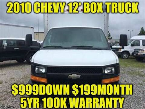 2010 Chevrolet Express Cutaway for sale at D&D Auto Sales, LLC in Rowley MA