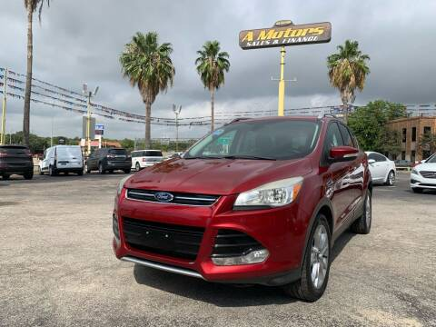 2014 Ford Escape for sale at A MOTORS SALES AND FINANCE - 10110 West Loop 1604 N in San Antonio TX
