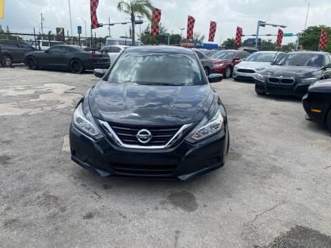 2017 Nissan Altima for sale at America Auto Wholesale Inc in Miami FL