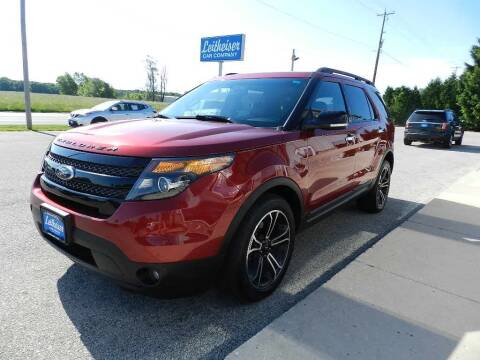 2014 Ford Explorer for sale at Leitheiser Car Company in West Bend WI