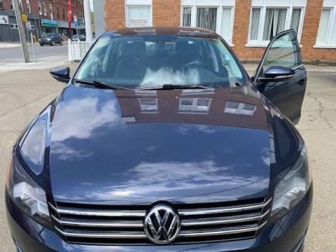 2012 Volkswagen Passat for sale at MEANS SALES & SERVICE in Warren PA
