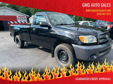 2003 Toyota Tundra for sale at GMG AUTO SALES in Scranton PA