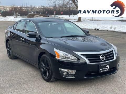 2014 Nissan Altima for sale at RAVMOTORS in Burnsville MN
