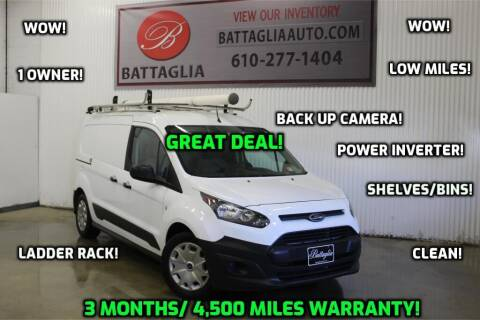 2017 Ford Transit Connect Cargo for sale at Battaglia Auto Sales in Plymouth Meeting PA