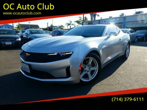 2019 Chevrolet Camaro for sale at OC Auto Club in Midway City CA