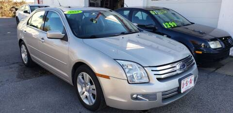 2008 Ford Fusion for sale at Union Street Auto in Manchester NH
