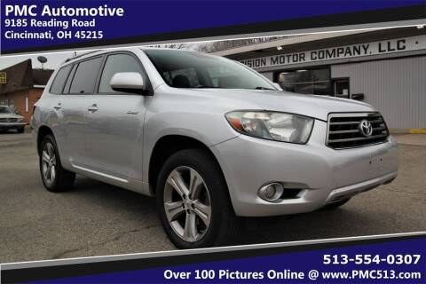 2009 Toyota Highlander for sale at PMC Automotive in Cincinnati OH