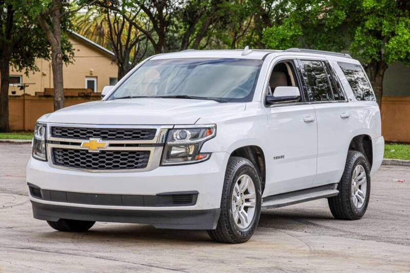 2016 Chevrolet Tahoe for sale at Easy Deal Auto Brokers in Hollywood FL
