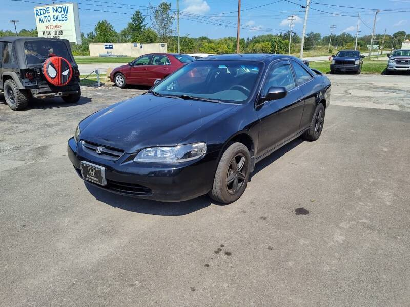 2000 Honda Accord for sale at RIDE NOW AUTO SALES INC in Medina OH