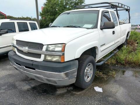 2003 Chevrolet Silverado 2500HD for sale at CARZ4YOU.com in Robertsdale AL