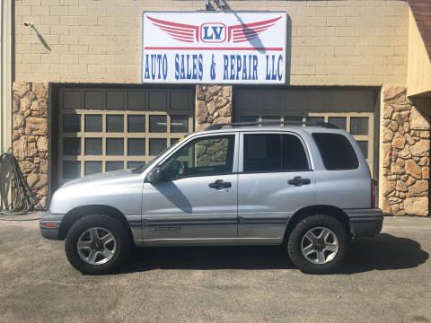 2003 Chevrolet Tracker for sale at LV Auto Sales & Repair, LLC in Yakima WA