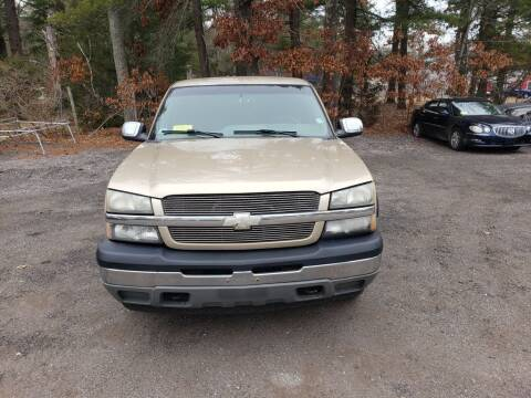 2005 Chevrolet Silverado 1500 for sale at 1st Priority Autos in Middleborough MA