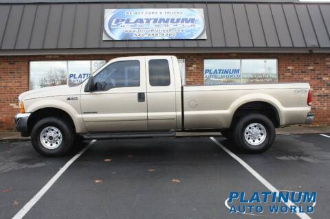 2001 Ford F-250 Super Duty for sale at Platinum Auto World in Fredericksburg VA