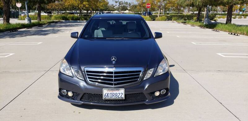 2010 Mercedes-Benz E-Class for sale at International Motors in San Pedro CA