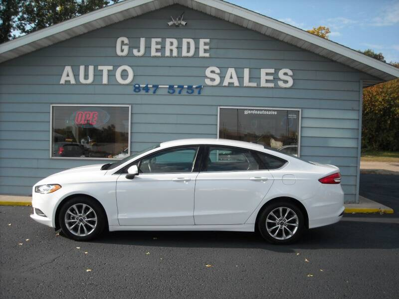 2017 Ford Fusion for sale at GJERDE AUTO SALES in Detroit Lakes MN