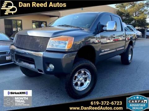 2008 Nissan Titan for sale at Dan Reed Autos in Escondido CA
