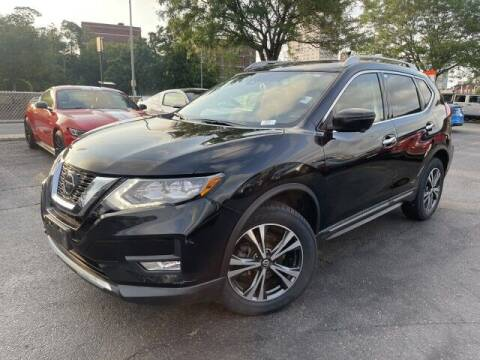 2018 Nissan Rogue for sale at Sonias Auto Sales in Worcester MA