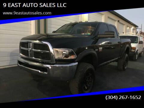 2011 RAM Ram Pickup 2500 for sale at 9 EAST AUTO SALES LLC in Martinsburg WV