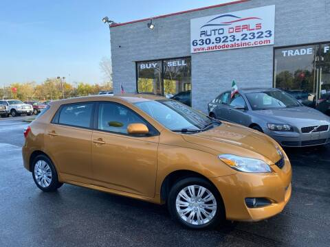 2010 Toyota Matrix for sale at Auto Deals in Roselle IL
