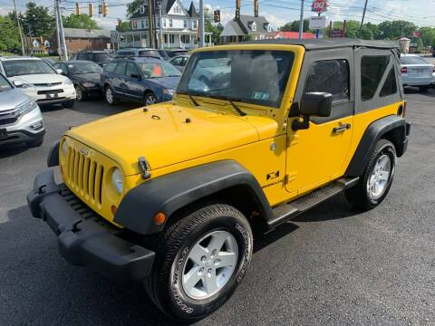 2008 Jeep Wrangler for sale at Masic Motors, Inc. in Harrisburg PA