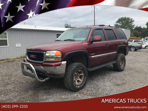 2002 GMC Yukon for sale at Americas Trucks in Jones OK