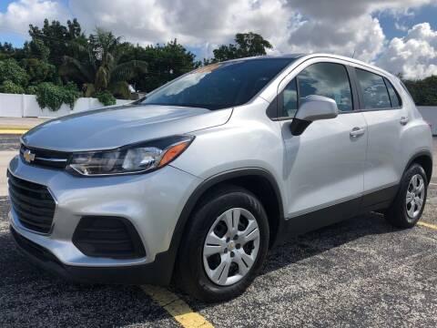 2018 Chevrolet Trax for sale at Guru Auto Sales in Miramar FL