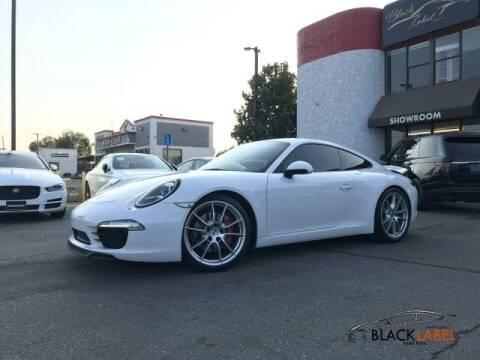 2012 Porsche 911 for sale at BLACK LABEL AUTO FIRM in Riverside CA