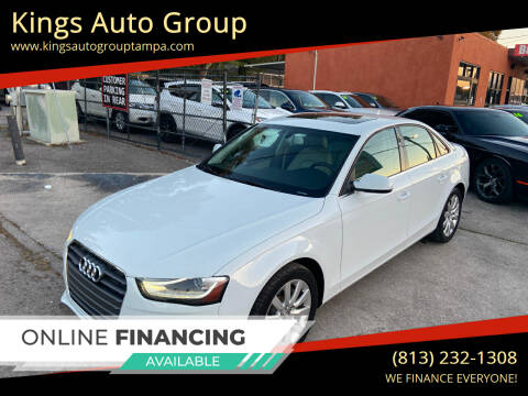 2013 Audi A4 for sale at Kings Auto Group in Tampa FL