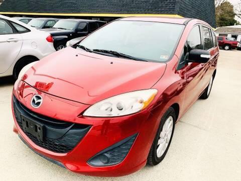 2013 Mazda MAZDA5 for sale at Auto Space LLC in Norfolk VA