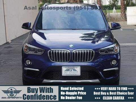2016 BMW X1 for sale at ASAL AUTOSPORTS in Corona CA